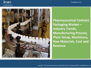 Pharmaceutical Contract Packaging Market | Industry Report