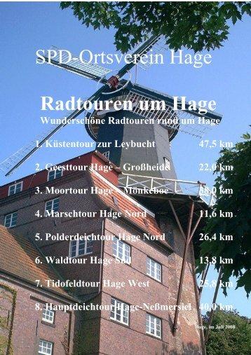 Radtouren um Hage - SPD Samtgemeindeverband Hage