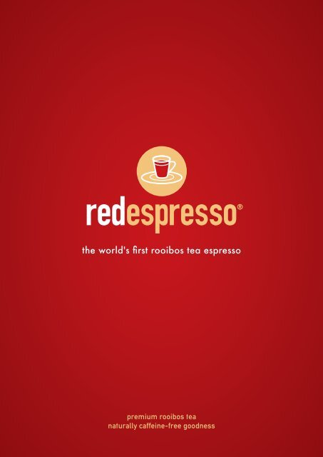 red espresso® beverage portfolio