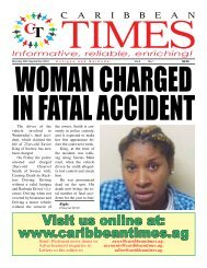 Caribbean Times 1st Issue - Monday 26th September 2016