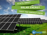 Stats about Solar Energy That You Should Know