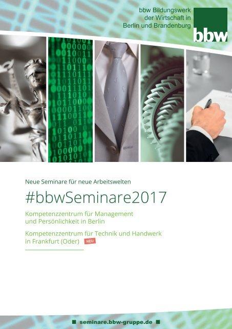 #bbwSeminare2017