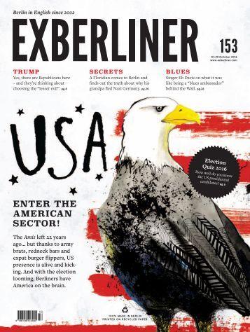 EXBERLINER Issue 153, October 2016