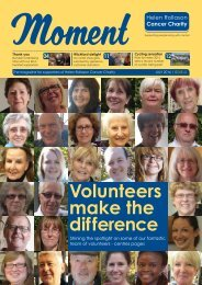 Volunteers make the difference