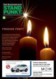 Radkersburger Standpunkt - Ausgabe 05/2008 - Steirische Volkspartei