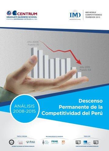 Boletín índice de Competitividad Mundial, junio 2015