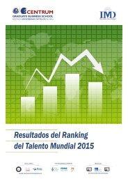 Folleto Ranking del Talento Mundial 2015