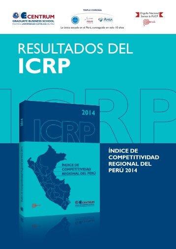 Folleto Índice de Competitividad Regional del Perú 2014