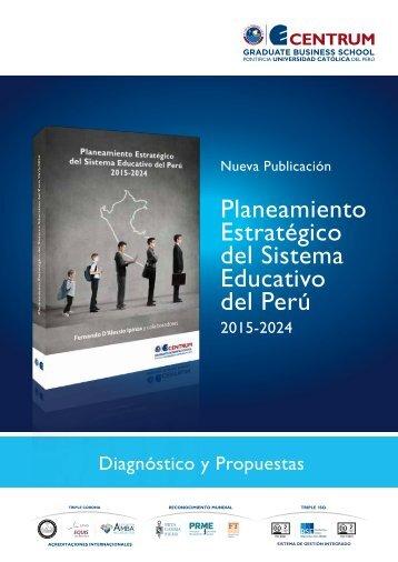 Folleto Planeamiento Estratégico del Sistema Educativo del Perú 2015-2024