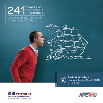 Brochure 24 Congreso de Gestión de Personas