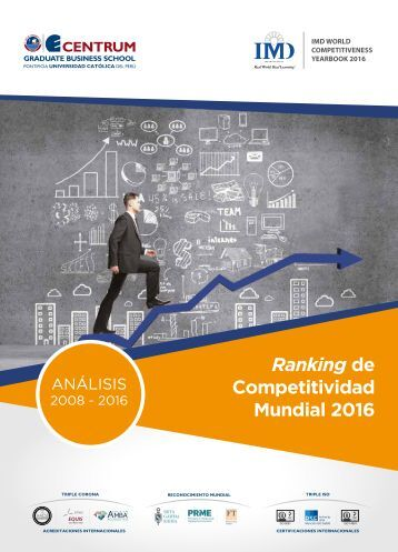 Folleto Ranking Mundial de Competitividad 2016