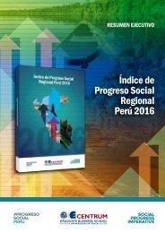 Índice del Progreso Social Regional 2016