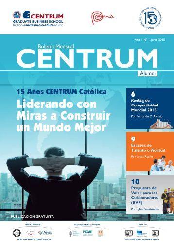 Boletín ALUMNI N° 1- junio 2015