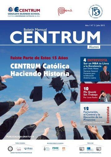 Boletín ALUMNI N° 2 - julio  2015