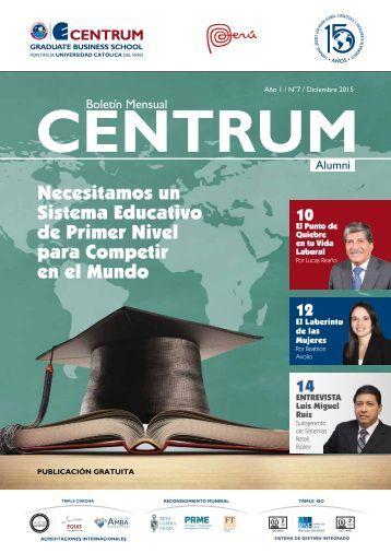 Boletín ALUMNI N° 7 - diciembre  2016