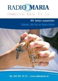 Radio Maria Schweiz - Wir beten zusammen