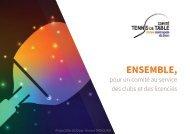 Rhône Métropole Lyon Tennis de Table - Projet 2016-2020