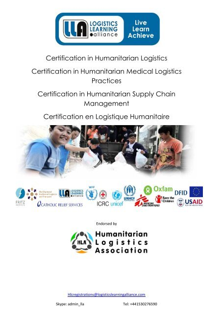 Certification Brochure September 2015
