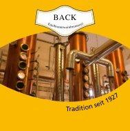 Brennerei Back Katalog 2012