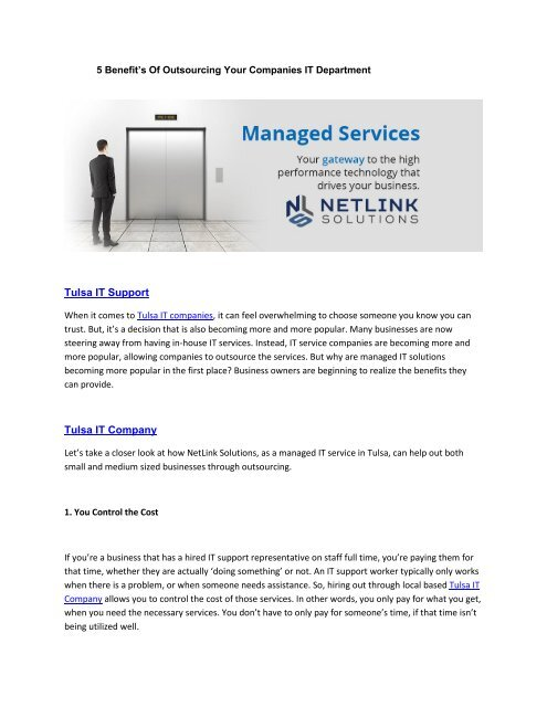 5_Benefit's_Of_Outsourcing_Your_Companies_IT_Department