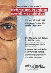 print &media - Print & Media Forum AG