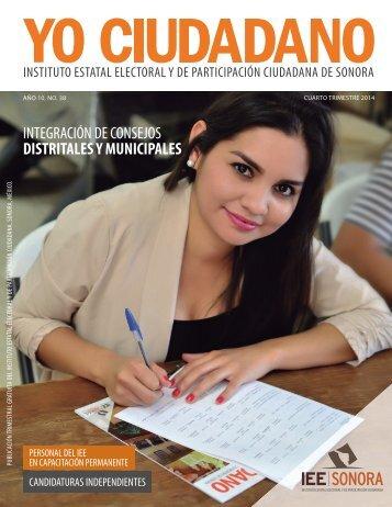 Revista Yo Ciudadano No. 38