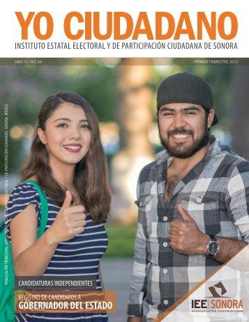 Revista Yo Ciudadano No. 39