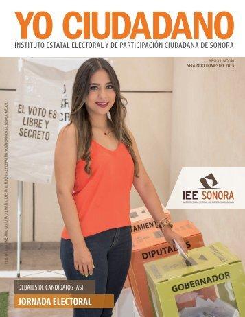 Revista Yo Ciudadano No. 40