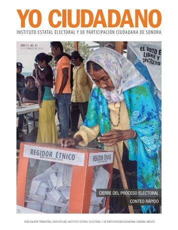 Revista Yo Ciudadano No. 41
