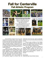 2016 Fall Sports Program Book