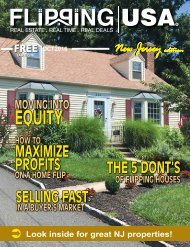 Flipping USA OCT 2016 New Jersey Edition