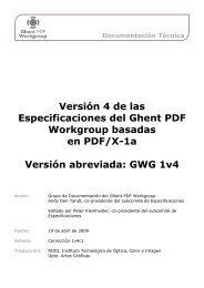 Documentación Técnica Versión 4 de las Especificaciones del ...