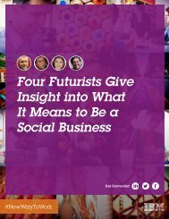 Insight into What It Means to Be a Social Business