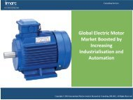 Electric Motor Market - Industry Analysis, Share, Size, Growth & Forecast