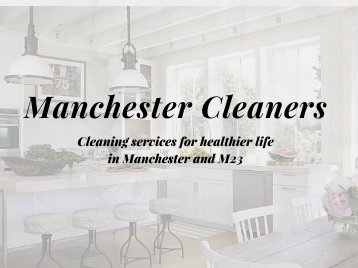 Expert Cleaners in M23 - Manchester Cleaners | 0161 823 020