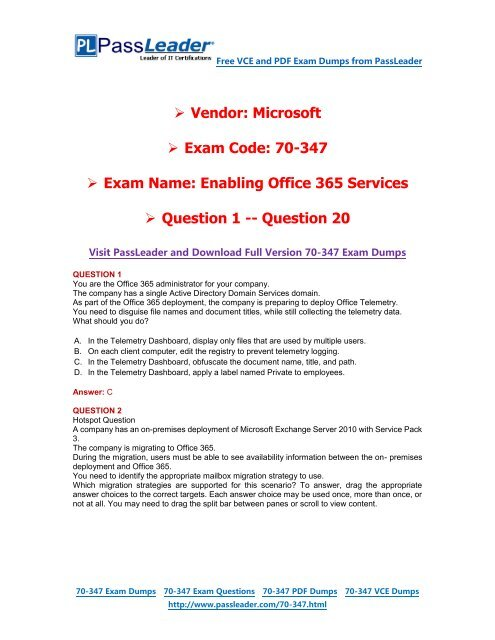 Microsoft Exchange Server 2010 Pdf
