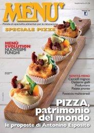MENU Speciale Pizze - Settembre 2016
