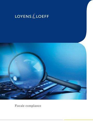 Loyens & Loeff - Fiscale compliance