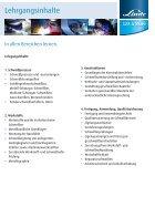 Exklusivausbildung Fachkraft für Schweißtechnik - Seite 3