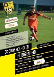 SCB1 - FC Bazenheid