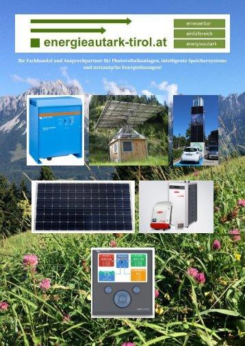 Prospekt Energieautark