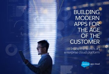 MODERN APPS FOR THE AGE OF THE CUSTOMER