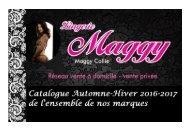 lingerie MAGGY - catalogue automne-hiver 2016-2017