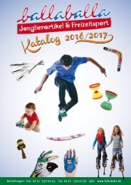 ballaballa - Katalog 2016/2017