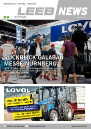 LEEB TECHNIK News 08/2016