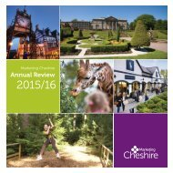 Marketing Cheshire Annual Review 2015-16