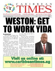 Caribbean Times 2nd Issue - Tuesday 27th September 2016