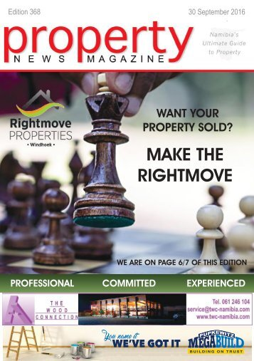 Property News Magazine - Edition 368 - 30 September 2016