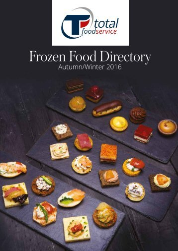 Frozen Food Directory Autumn/Winter 2016