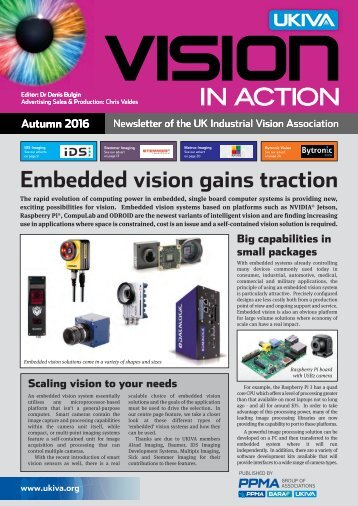 Embedded vision gains traction